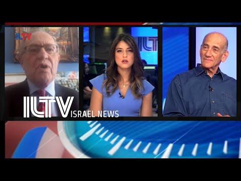 Ehud Olmert, Former Prime Minister Of Israel And Prof  Alan Dershowitz, Author, Jurist \u0026 Lawyer