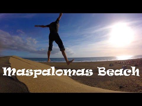 Exploring Gran Canaria, Canary Islands: Beautiful Maspalomas Beach