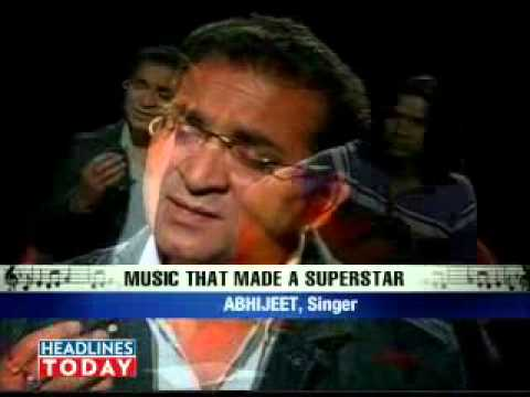 Video   Singer Abhijeet relives Kaka's magic   Movies Videos     India Today   Part 4