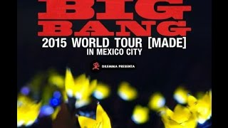 [Fancam] BigBang Made Tour Mexico 2015 - We like 2 Party + Encore