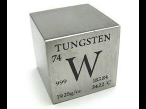 3D Printing Metal, Tungsten