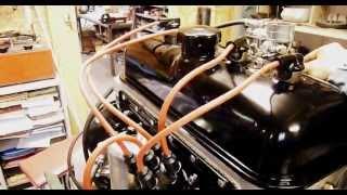Démarrage moteur Peugeot 203