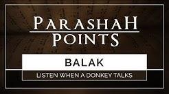 Parashah Points: Balak - Listen When A Donkey Talks - 119 Ministries