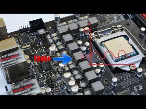 How the motherboard VRM works Arabic