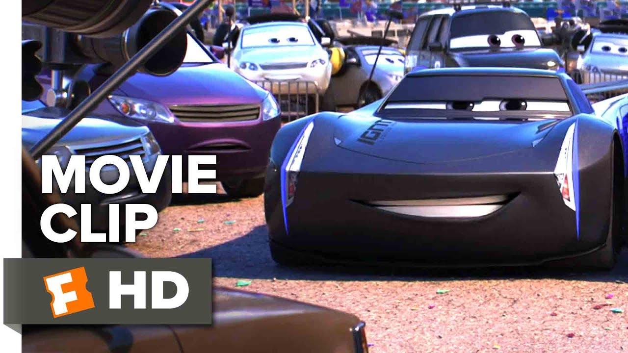 cars 3 movie clip meet jackson storm 2017 movieclips. Black Bedroom Furniture Sets. Home Design Ideas