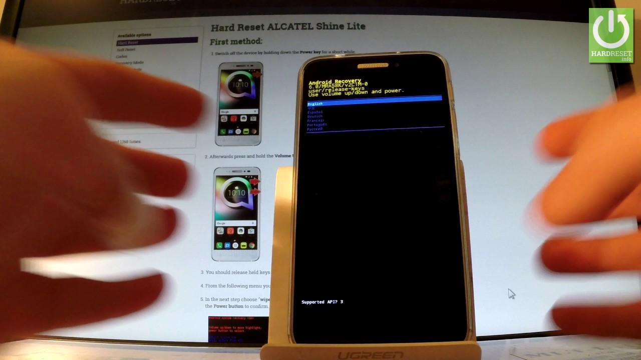 How to Enable ADB in ALCATEL Shine Lite – Use ADB