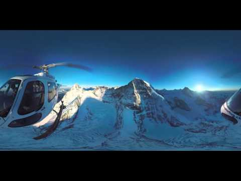 360° mountain view | Air Glaciers | Jungfrau Region