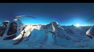 360° mountain view | Air Glaciers | Jungfrau Region thumbnail