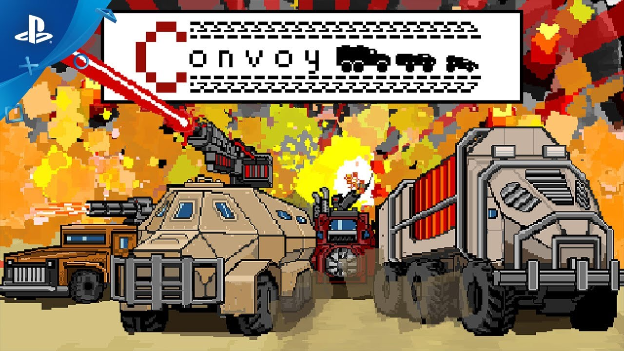 Convoy: A Tactical Roguelike - Launch Trailer | PS4