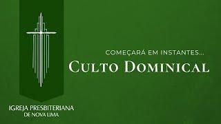 [Culto Dominical] Os dilemas no coração do homem | IPNL | 26.10.2020