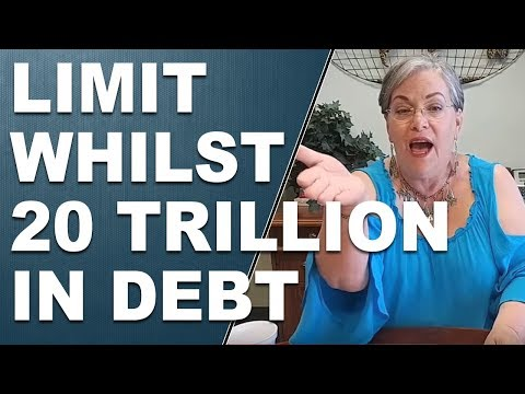 Debt ceiling - Raising the Limit Whilst 20 Trillion in Debt