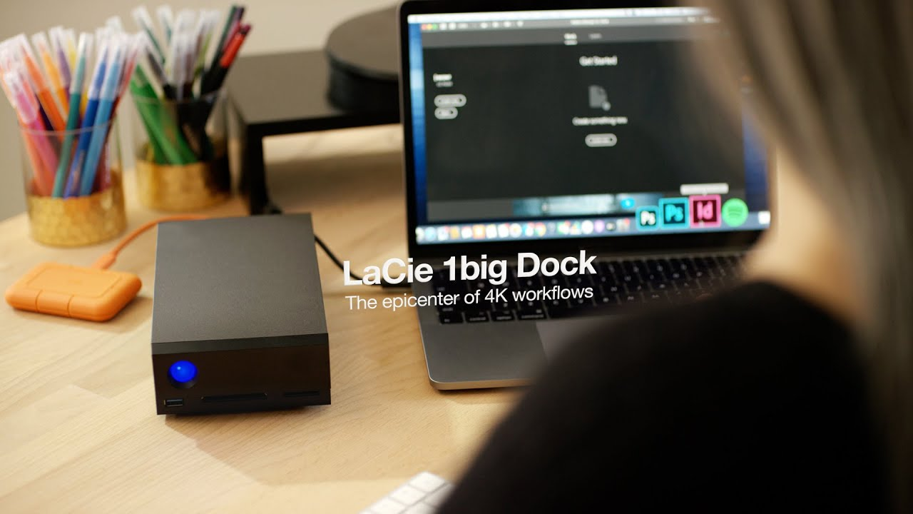 LaCie I Enter the Epicenter of 4K Workflows With LaCie 1big Dock