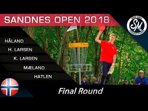 Sandnes Open 2018 | Final 9 | Håland, H. Larsen, K. Larsen, Mæland, Hatlen