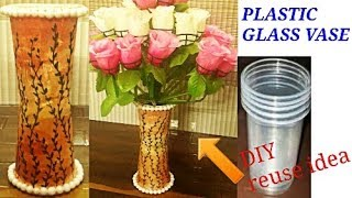 Gambar cover DIY/Flower Pot out of Disposable Plastic Glass/Best Out of Waste Idea
