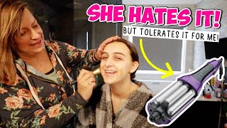 MOM GIVES DAUGHTER A MAKEOVER & She HATES It!