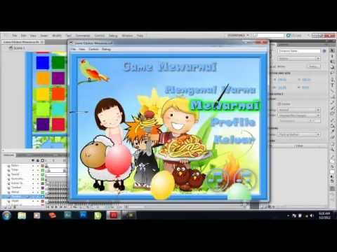 How To Make Coloring Game With Adobe Flash