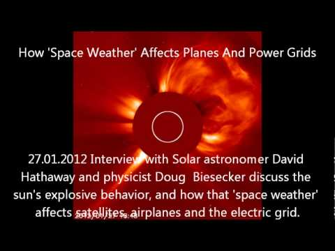 Interview How 'Space Weather' Affects Planes And Power Grids