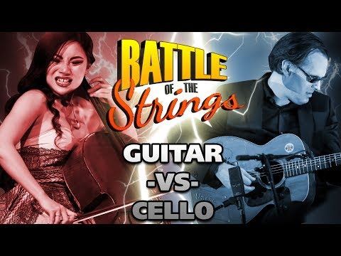 Epic Battle of the Strings - Joe Bonamassa VS Tina Guo - Best Guitarist VS Best Cellist