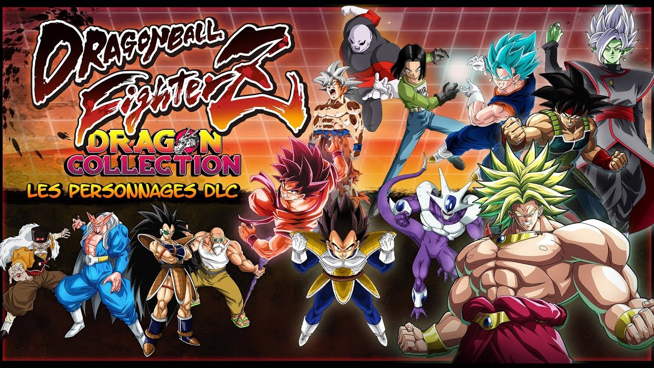 Dragon ball fighterz tout sur les persos dlc youtube - Tout les image de dragon ball z ...