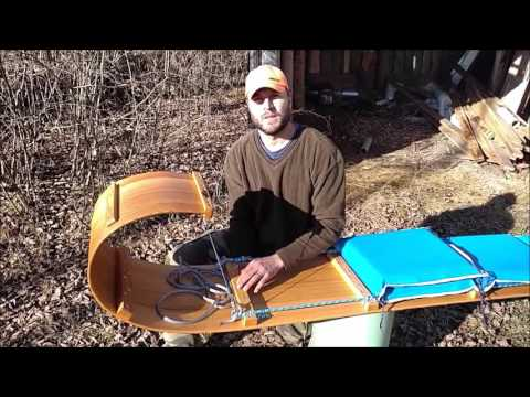 Downhill Toboggan Snow Sled Features