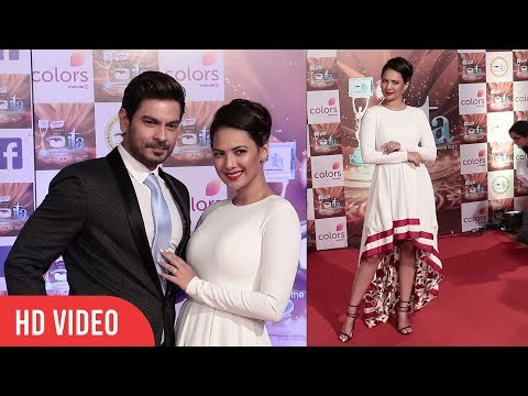 Rochelle Rao with Keith Sequeira at 17th Indian Television Academy Awards 2017 | ITA Awards 2017