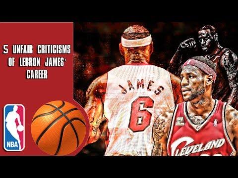 5 Unfair criticisms of Lebron James' career