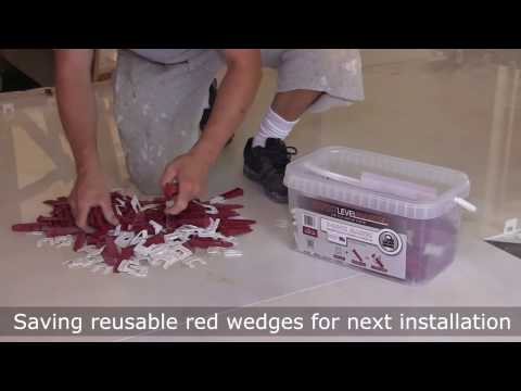 How to prepare floor and tile with T-Lock™ Tile Leveling System by Pro