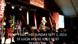 RICKY T - MASS ATTACK LIVE ST LUCIA CARNIVAL 2013