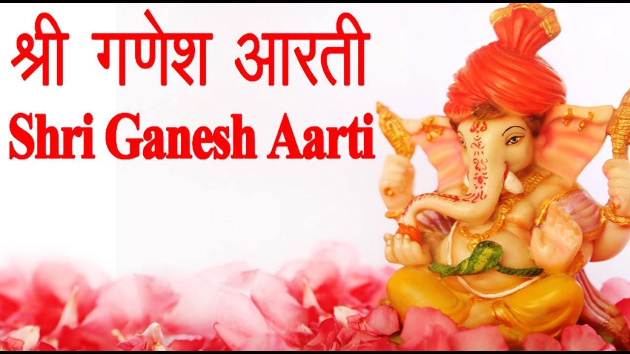 Shri Ganesh Aarti With Hindi English Lyrics Jai Ganesh Jai Ganesh Jai Ganesh Deva