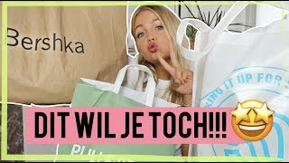 BUDGET SHOPLOG BACK TO SCHOOL????PRIMARK/BERSHKA/PULLBEAR/MONKI