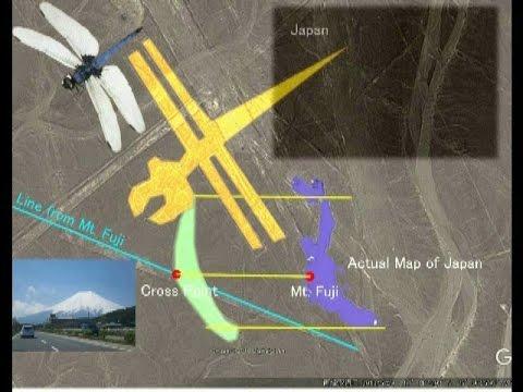 2278【6重】Japan or Parrot・Japan land in Nazca日本列島かオウムか・ナスカの中の日本byはやし浩司Hiroshi Hayashi, Japan
