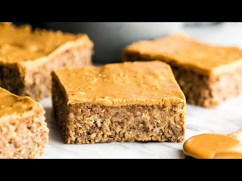 Healthy Peanut Butter Oatmeal Breakfast Bars Recipe