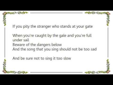Gordon Lightfoot - The House You Live In Lyrics