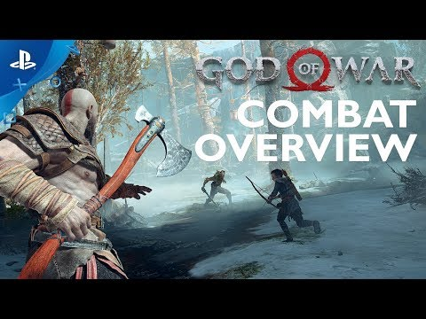 God of War's New Combat System Explained   PS4 Pro