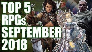 Top 5 NEW RPGs Of September 2018
