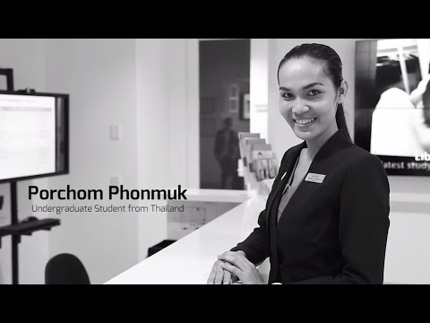 Porchom, Master Degree student from Thailand