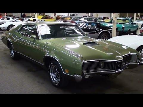 1970 Mercury Cyclone Gt 429 V8 4 Bbl Start Up And Walkaround Youtube