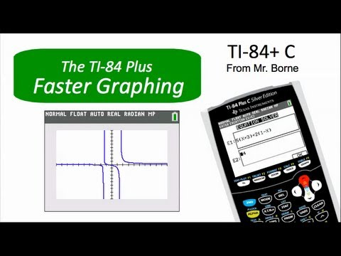 Faster graphing on the ti 84 plus color youtube faster graphing on the ti 84 plus color ccuart Image collections