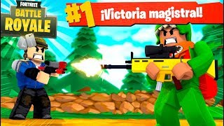 VICTORIA en el FORTNITE: Battle Royale de ROBLOX