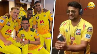 CSK - Dressing Room Funny Videos | Vivo IPL 2018 - 2021