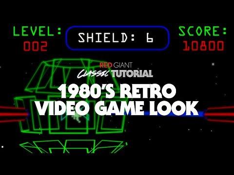 Classic Tutorial | Create a 1980's Retro Video Game Look