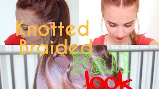 Knotted Braided Fall Look | Stella Cini Thumbnail