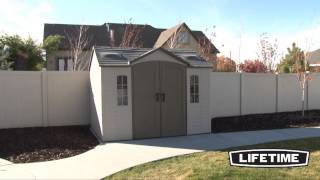 Lifetime Storage Shed Information Video