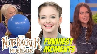 The Nutcracker and the Four Realms Bloopers and Funny Moments | Keira Knightley Funny