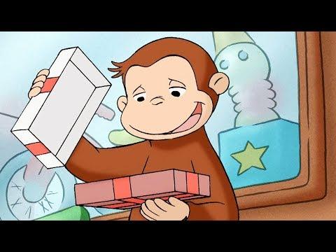 George O Curioso 🐵 O Balcão de BomBoms 🐵 Episódio Completo 🐵 Desenhos Animados