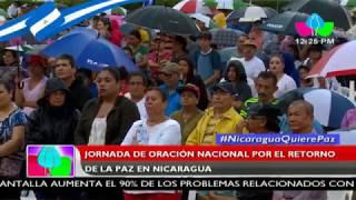 Jornada de oración nacional por el retorno de la paz en Nicaragua