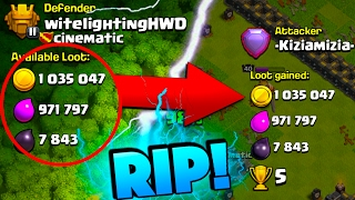 LOOK HOW MUCH LOOT HE TOOK FROM ME! THIS IS WHY YOU STAY ACTIVE IN CLASH OF CLANS!