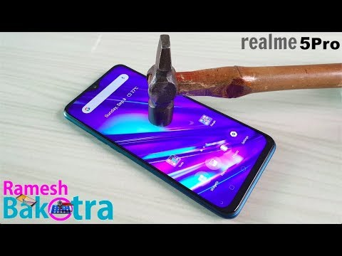 Realme 5 Pro Screen Scratch Test Gorilla Glass 3