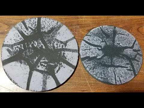 1000 grit Abralon vs 1000 grit Use-it by CtD with a ball spinner