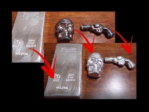 How to Clean Poured Silver & If You Should or Not!!!